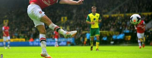 Prediksi Skor Norwich City vs Arsenal 29 November 2015