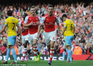 Prediksi Arsenal vs Crystal Palace 17 April 2016
